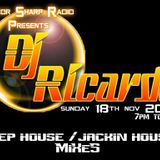 DjRicardo's second  part of his R.S.M.M.Radio show 18/11/2012 Jackin House mix