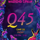 Q.45 live at Camp OG. Nocturnal Wonderland 2018