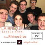 LBDLM #32 - 22 novembre 2017 - Rhinocéros