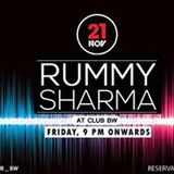 Rummy Sharma @ Club BW. New Delhi. 21/11/14.