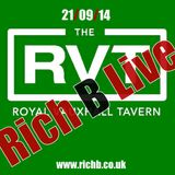 Rich B LIVE in London 21/09/2014 (www.richb.co.uk)