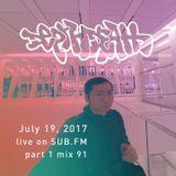 Depth Death / 2017 Jul 19 / mix 90 // part 1 (6 hour set)