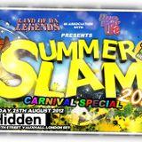 SUMMER SLAM 2012 GARAGE MEETS HOUSE MIX CD..DR G,MC PSG,RISKGO,AN DJ TEMPO