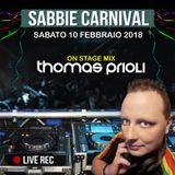 SABBIE CARNIVAL 10 Feb 2018  -  Thomas Prioli on stage mix