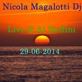 Nicola magalotti Dj Live @ Ai Delfini 29-06-14
