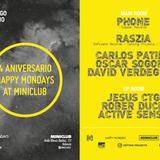 Fon @ Miniclub 4º Aniversario Happy Mondays (28.7.13)