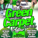 Green Carpet Affair Pt 2 Live audio Half krazy & Live Performance!!