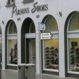 CRCfm outside broadcast in Parsons Shoe shop Main Street Castlebar