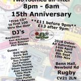 Rugby All-nighter, 15th Anniversary, 10th Feb , 2018, my set in the freestyle room