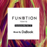 FUNKTION TOKYO Exclusive Mix Vol.72 Mixed By DJ DaBook