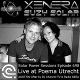 Solar Power Sessions 698 - Suzy Solar (Xenera) live at ASOT 700 afterparty Poema Utrecht