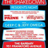 Resident's Shakedown 1-11-14 - Willyum + Rob Paine Pt. 1