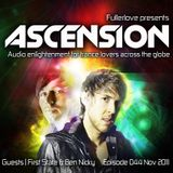 Ascension with Fullerlove Episode 044 November 2011 Ft First State and Ben Nicky