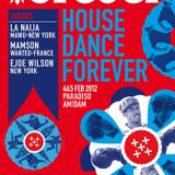 HOUSE DANCE FOREVER 2012 - WARMUP MIX