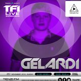 Trance for Infinity Live Sessions: Gelardi Guestmix (25-11-2012)