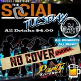 Social Tuesday  party mix Tape CD DJ Daddy Mack(c) 2018