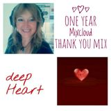 Deep House One Year Mixcloud thank you Mix by Ulrike Langer