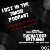 LOST IN THE WASH PODCAST 002 (VINYLCAST) - SALVATORE VITRANO