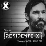 DJ Set Toto Residente X
