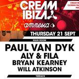 Bryan Kearney - LIVE @ Cream Closing Party @ Amnesia, Ibiza [September 21 2017]