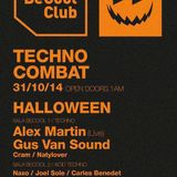 A.gonzalez@Techno Combat Haloween at BeCool