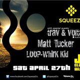 SQUEEZE SESSIONS - Matt Tucker - Kane FM - 28.04.13