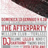 SKATRAMP & LILLO G. @ MILLION CLUB 13.01.2013 THE AFTER PARTY