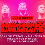Drumsound & Bassline Smith - Live & Direct #25  [14-02-17]
