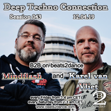 Deep Techno Connection Session 043 (with Karel van Vliet and Mindflash)