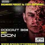 AFM.RADIO @ DREAMCODE PODCAST 31# By STAFFY AND FRIENDS - GUEST - DION (29.06.2014)