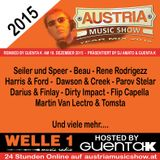 AUSTRIA MUSIC SHOW BEST OF THE YEAR 2015 Remixed by Guenta K