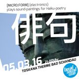 soundpaintings for Haiku 俳句 poetry [micro:form] (DJset) @ Liquid Sound Club [LSC#097]