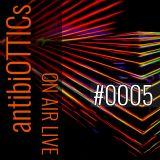 "antibiOTTICs ""on air live"" Radioshow #0005 2016-24-11"
