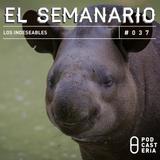 Semanario No. 37 - Los Indeseables: Diputados, Carmen Salinas, Fher de Maná, André Marín.