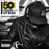 50 Years Of Bass 28 de Marzo 2018 FatPablo KayaUnite show