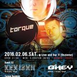 Q'hey Live Mix at Onzieme Osaka Feb. 2016