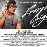 Francesco Giglio on air (Radio 105 in da Klubb) Venerdì 16 gennaio 2015