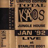 LTJ Bukem - Total Kaos - 24th January 1992