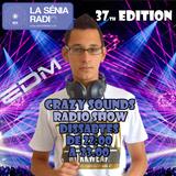 Joan Barrera DJ - Crazy Sounds Radio Show 37 @LaSeniaRadio