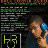 BACK CORNER RADIO: Episode #15 (June 14th 2012)