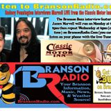 Buzz On Branson with Special Guest James Marvell