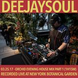 03/25/17- Deejaysoul, Live at the New York Botanical Garden Orchid Evening- Part 1