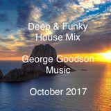 Deep & Funky - October 2017 Mix - GG Music