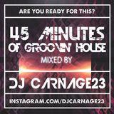 Dj Carnage23 - 45 minutes of groovin house