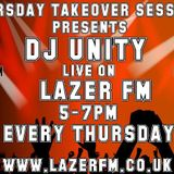 Dj Unity Live on Lazer Fm 5th December 2015 part 1