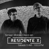 DJ Set Simian Mobile Disco Residente X