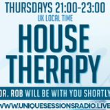 House Therapy with Dr Rob 15th August 2019 on www.uniquesessionsradio.live