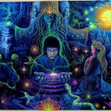 COLLETTE & DJ INSANOCAMSIS - MYSTICAL VOYAGERS VISIONARY SHAMANICS SHOW - 1/18