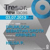 Sebastian Groth @ New Faces - Tresor Berlin - 03.07.2013