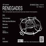 MNM-Monomix - LEF presents RENEGADES at Knock Koenji (22/sep/2018)